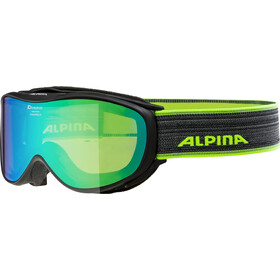 Alpina Challenge 2.0 Multimirror S2 Lunettes de protection, black green